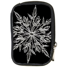 Ice Crystal Ice Form Frost Fabric Compact Camera Cases by Onesevenart