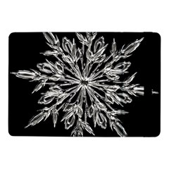 Ice Crystal Ice Form Frost Fabric Samsung Galaxy Tab Pro 10 1  Flip Case by Onesevenart
