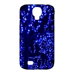 Lights Blue Tree Night Glow Samsung Galaxy S4 Classic Hardshell Case (pc+silicone) by Onesevenart