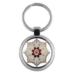 Jewelry Jewel Gems Gemstone Shine Key Chains (round)  by Onesevenart