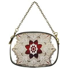 Jewelry Jewel Gems Gemstone Shine Chain Purses (one Side)  by Onesevenart