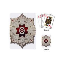 Jewelry Jewel Gems Gemstone Shine Playing Cards (mini)  by Onesevenart
