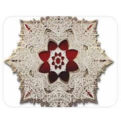Jewelry Jewel Gems Gemstone Shine Double Sided Flano Blanket (medium)  by Onesevenart