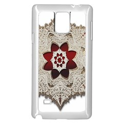 Jewelry Jewel Gems Gemstone Shine Samsung Galaxy Note 4 Case (white) by Onesevenart