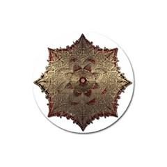 Jewelry Jewel Gem Gemstone Shine Magnet 3  (round) by Onesevenart