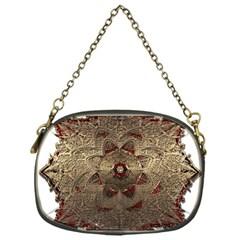 Jewelry Jewel Gem Gemstone Shine Chain Purses (one Side)  by Onesevenart