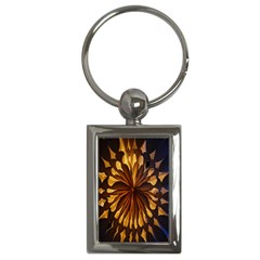 Light Star Lighting Lamp Key Chains (rectangle)  by Onesevenart