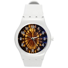 Light Star Lighting Lamp Round Plastic Sport Watch (m) by Onesevenart