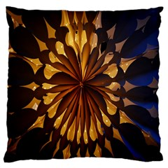Light Star Lighting Lamp Large Flano Cushion Case (two Sides) by Onesevenart