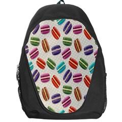 Macaron Macaroon Stylized Macaron Backpack Bag by Onesevenart