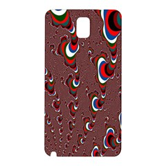 Mandelbrot Fractal Mathematics Art Samsung Galaxy Note 3 N9005 Hardshell Back Case by Onesevenart