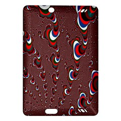 Mandelbrot Fractal Mathematics Art Amazon Kindle Fire Hd (2013) Hardshell Case by Onesevenart