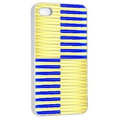Metallic Gold Texture Apple Iphone 4/4s Seamless Case (white) by Onesevenart