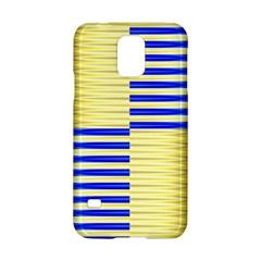 Metallic Gold Texture Samsung Galaxy S5 Hardshell Case  by Onesevenart