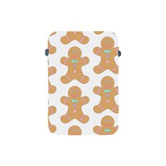 Pattern Christmas Biscuits Pastries Apple Ipad Mini Protective Soft Cases by Onesevenart