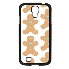 Pattern Christmas Biscuits Pastries Samsung Galaxy S4 I9500/ I9505 Case (black) by Onesevenart