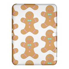 Pattern Christmas Biscuits Pastries Samsung Galaxy Tab 4 (10 1 ) Hardshell Case  by Onesevenart