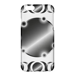 Metal Circle Background Ring Apple Iphone 6 Plus/6s Plus Hardshell Case by Onesevenart