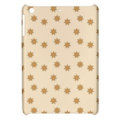 Pattern Gingerbread Star Apple Ipad Mini Hardshell Case by Onesevenart
