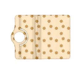 Pattern Gingerbread Star Kindle Fire Hd (2013) Flip 360 Case by Onesevenart