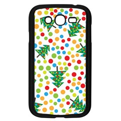 Pattern Circle Multi Color Samsung Galaxy Grand Duos I9082 Case (black) by Onesevenart