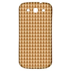 Pattern Gingerbread Brown Samsung Galaxy S3 S Iii Classic Hardshell Back Case by Onesevenart