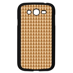 Pattern Gingerbread Brown Samsung Galaxy Grand Duos I9082 Case (black) by Onesevenart