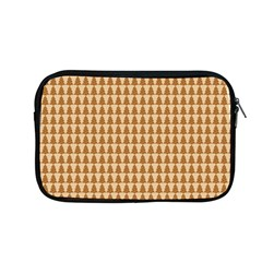 Pattern Gingerbread Brown Apple Macbook Pro 13  Zipper Case by Onesevenart