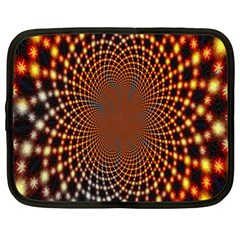 Pattern Texture Star Rings Netbook Case (xl)  by Onesevenart