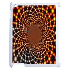 Pattern Texture Star Rings Apple Ipad 2 Case (white) by Onesevenart
