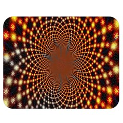 Pattern Texture Star Rings Double Sided Flano Blanket (medium)  by Onesevenart