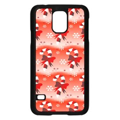 Seamless Repeat Repeating Pattern Samsung Galaxy S5 Case (black) by Onesevenart