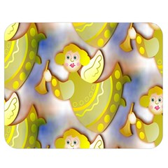 Seamless Repeat Repeating Pattern Double Sided Flano Blanket (medium)  by Onesevenart