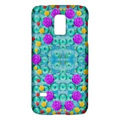 Season For Roses And Polka Dots Galaxy S5 Mini by pepitasart