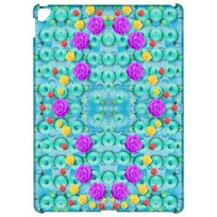 Season For Roses And Polka Dots Apple Ipad Pro 12 9   Hardshell Case by pepitasart