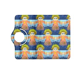 Seamless Repeat Repeating Pattern Kindle Fire Hd (2013) Flip 360 Case by Onesevenart