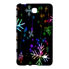 Snowflakes Snow Winter Christmas Samsung Galaxy Tab 4 (8 ) Hardshell Case  by Onesevenart