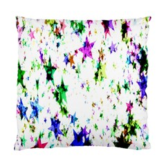 Star Abstract Advent Christmas Standard Cushion Case (two Sides) by Onesevenart