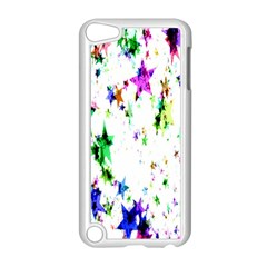 Star Abstract Advent Christmas Apple Ipod Touch 5 Case (white) by Onesevenart