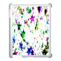 Star Abstract Advent Christmas Apple Ipad 3/4 Case (white) by Onesevenart