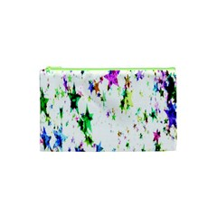 Star Abstract Advent Christmas Cosmetic Bag (xs) by Onesevenart