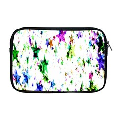 Star Abstract Advent Christmas Apple Macbook Pro 17  Zipper Case by Onesevenart