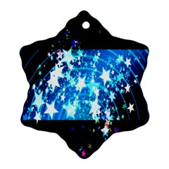 Star Abstract Background Pattern Ornament (snowflake) by Onesevenart
