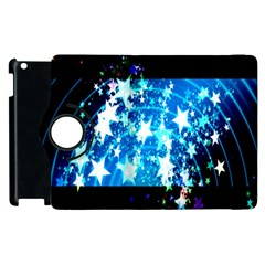 Star Abstract Background Pattern Apple Ipad 3/4 Flip 360 Case by Onesevenart