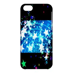 Star Abstract Background Pattern Apple Iphone 5c Hardshell Case by Onesevenart