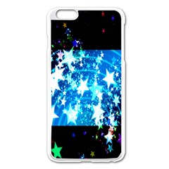 Star Abstract Background Pattern Apple Iphone 6 Plus/6s Plus Enamel White Case by Onesevenart