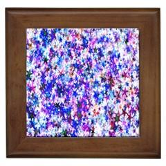 Star Abstract Advent Christmas Framed Tiles by Onesevenart