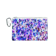 Star Abstract Advent Christmas Canvas Cosmetic Bag (s) by Onesevenart