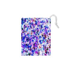 Star Abstract Advent Christmas Drawstring Pouches (xs)  by Onesevenart