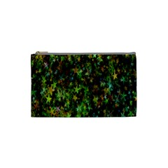 Star Abstract Advent Christmas Cosmetic Bag (small)  by Onesevenart